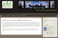 enVision Staffing Solutions :: Provider of workforce solutions specialized in staffing for Finance and Accounting and general office support. This website is at www.enVisionfl.com